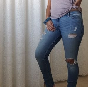 👖Ripped low rise jeans 👖